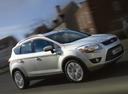 Фото авто Ford Kuga 1 поколение, ракурс: 315 цвет: серебряный