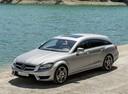 Фото авто Mercedes-Benz CLS-Класс C218/X218, ракурс: 45 цвет: серебряный