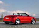 Фото авто Audi TT 8J [рестайлинг], ракурс: 225 цвет: красный