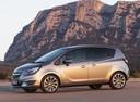 Фото авто Opel Meriva 2 поколение [рестайлинг], ракурс: 90 цвет: серебряный