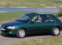 Фото авто Peugeot 306 1 поколение [рестайлинг], ракурс: 90 цвет: зеленый