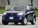 Фото авто Toyota RAV4 2 поколение, ракурс: 45 цвет: синий
