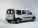 Фото авто Renault Kangoo 2 поколение [рестайлинг], ракурс: 225 цвет: белый