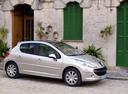 Фото авто Peugeot 207 1 поколение, ракурс: 270 цвет: серебряный