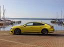 Фото авто Volkswagen Arteon 1 поколение, ракурс: 90 цвет: желтый