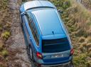 Фото авто Skoda Octavia 3 поколение [рестайлинг], ракурс: сверху цвет: синий