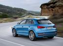 Фото авто Audi Q3 8U [рестайлинг], ракурс: 135 цвет: синий
