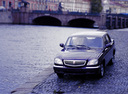 Фото авто ГАЗ 31105 Волга 1 поколение, ракурс: 45 цвет: черный