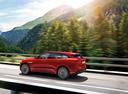 Фото авто Jaguar F-Pace 1 поколение, ракурс: 90 цвет: красный