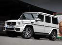 Фото авто Mercedes-Benz G-Класс W463 [2-й рестайлинг], ракурс: 45 цвет: белый
