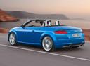 Фото авто Audi TT 8S, ракурс: 135 цвет: синий
