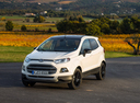 Фото авто Ford EcoSport 2 поколение, ракурс: 45 цвет: белый