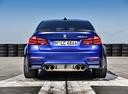 Фото авто BMW M3 F80 [рестайлинг], ракурс: 180 цвет: синий