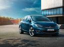 Фото авто Opel Astra J [рестайлинг], ракурс: 315 цвет: синий