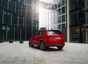 Фото авто Mazda CX-5 2 поколение, ракурс: 135 цвет: красный