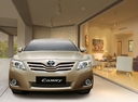 Фото авто Toyota Camry XV40 [рестайлинг],  цвет: золотой