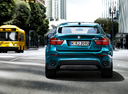 Фото авто BMW X6 E71 [рестайлинг], ракурс: 180 цвет: синий