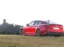 Фото авто Kia Stinger 1 поколение, ракурс: 135 цвет: красный