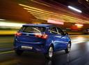 Фото авто Kia Rio 3 поколение, ракурс: 225 цвет: синий