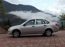 Фото авто ВАЗ (Lada) Granta 1 поколение, ракурс: 90 цвет: серебряный