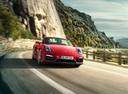 Фото авто Porsche Boxster 981,  цвет: красный