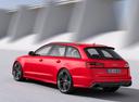 Фото авто Audi RS 6 C7 [рестайлинг], ракурс: 135 цвет: красный