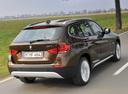 Фото авто BMW X1 E84, ракурс: 225 цвет: коричневый