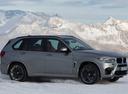 Фото авто BMW X5 M F85, ракурс: 270 цвет: серый