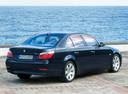 Фото авто BMW 5 серия E60/E61, ракурс: 225 цвет: синий