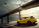 Фото авто Renault Megane 3 поколение [рестайлинг], ракурс: 135 цвет: желтый