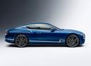 Фото авто Bentley Continental GT 3 поколение, ракурс: 270 - рендер цвет: голубой