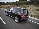 Фото авто Mercedes-Benz GLK-Класс X204, ракурс: 135 цвет: черный