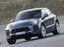 Фото авто Porsche Macan 1 поколение, ракурс: 45 цвет: мокрый асфальт