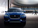 Фото авто Jaguar F-Pace 1 поколение,  цвет: синий