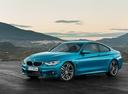 Фото авто BMW 4 серия F32/F33/F36 [рестайлинг], ракурс: 45 цвет: голубой