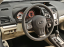 Фото авто Subaru Impreza 4 поколение, ракурс: рулевое колесо