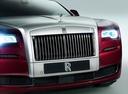 Фото авто Rolls-Royce Ghost 2 поколение, ракурс: передняя часть цвет: бордовый