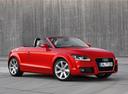 Фото авто Audi TT 8J [рестайлинг], ракурс: 315 цвет: красный