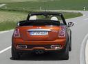 Фото авто Mini Cabrio R57 [рестайлинг], ракурс: 180 цвет: оранжевый