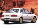 Фото авто Subaru Impreza 1 поколение, ракурс: 225 цвет: серебряный