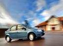 Фото авто Renault Logan 1 поколение [рестайлинг], ракурс: 270 цвет: синий