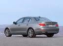 Фото авто BMW 5 серия E60/E61 [рестайлинг], ракурс: 135 цвет: серый
