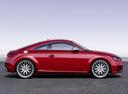 Фото авто Audi TT 8S, ракурс: 270 цвет: красный