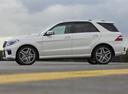 Фото авто Mercedes-Benz M-Класс W166, ракурс: 90 цвет: серебряный