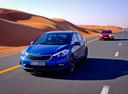 Фото авто Kia Cerato 3 поколение, ракурс: 45 цвет: синий