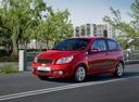 Фото авто Chevrolet Aveo T250 [рестайлинг], ракурс: 45 цвет: красный