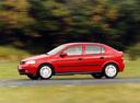 Фото авто Opel Astra G, ракурс: 90 цвет: красный