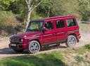 Фото авто Mercedes-Benz G-Класс W463 [3-й рестайлинг], ракурс: 90 цвет: бордовый