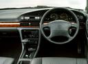 Фото авто Nissan Bluebird U13, ракурс: рулевое колесо