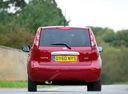 Фото авто Nissan Note E11 [рестайлинг], ракурс: 180 цвет: красный